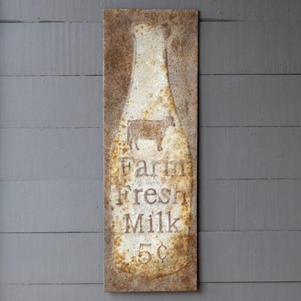 Milk Signage