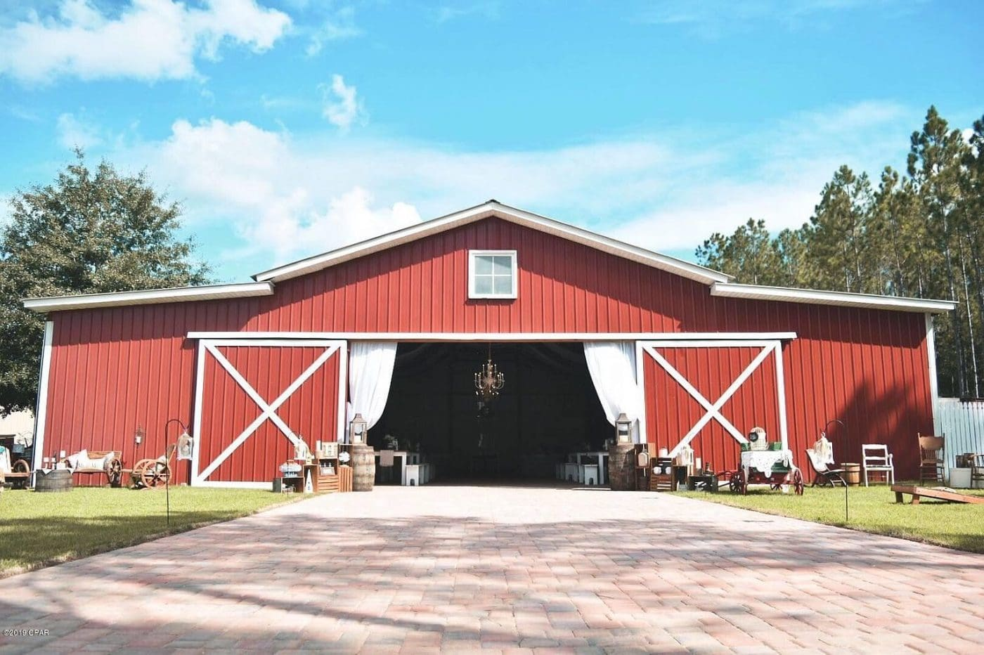 Panama City Beach, FL Wedding Barn