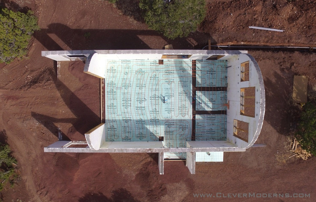 Radiant Flooring Setup