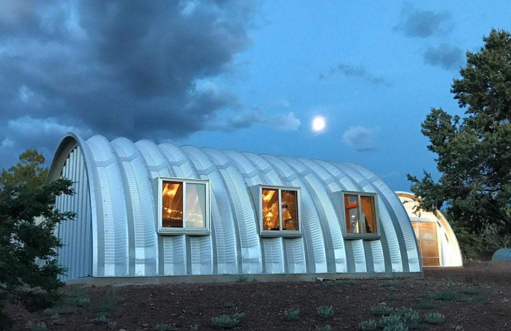 Quonset Hut With Windows by Clever Moderns