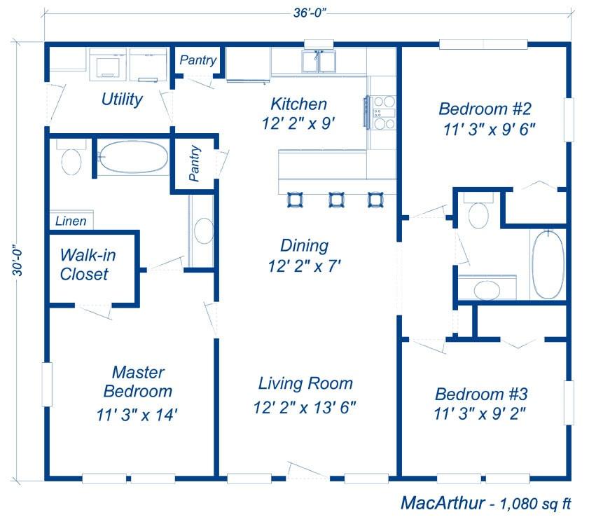 Budget Home Kits Floor Plans