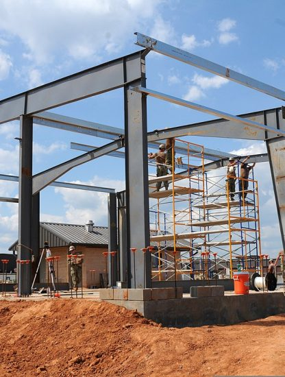 what are the different types metal building structures