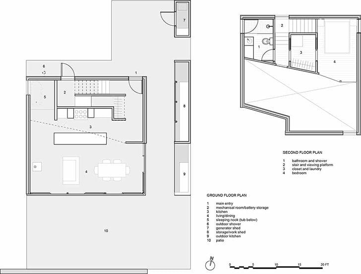 saltbox house floor plan