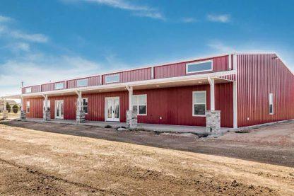 new construction red metal barn AmarilloTX 79118