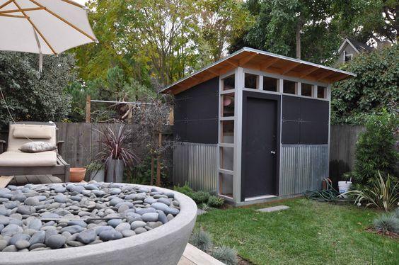 Corrugated Garden House