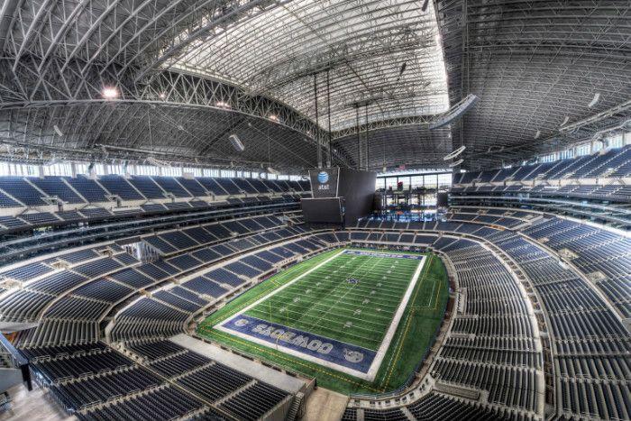 cowboys stadium clear span construction