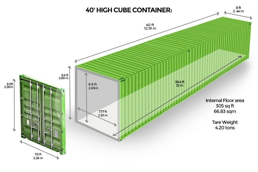 ebay shipping container for sale