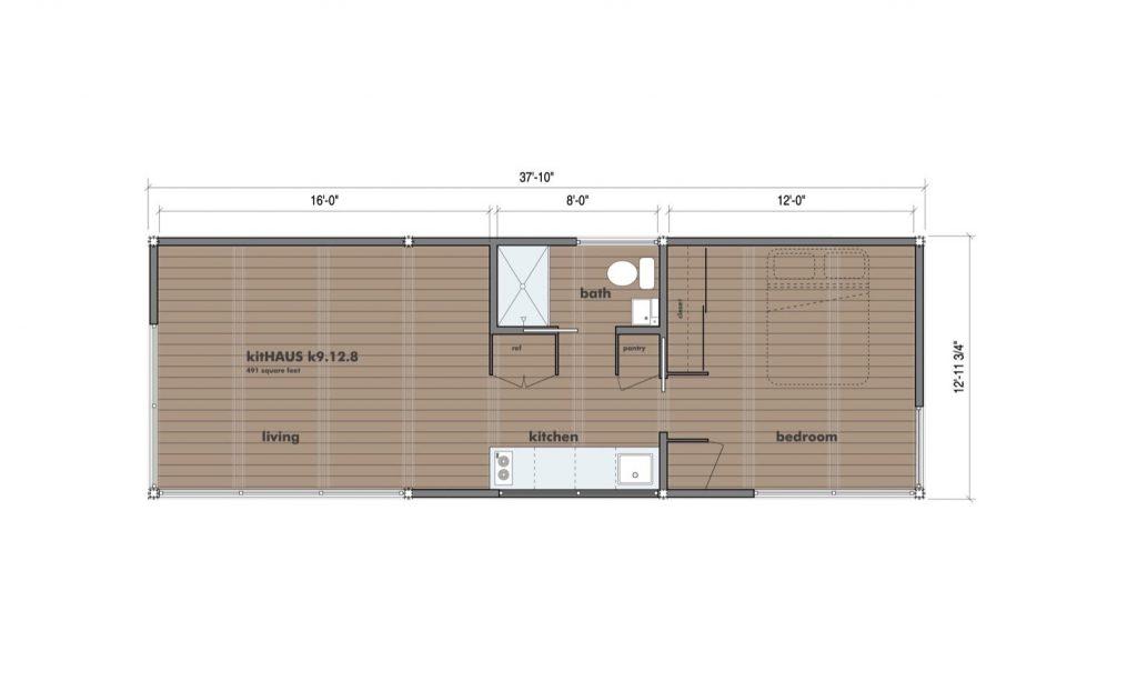 k9 floor plan