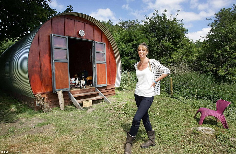 quonset hut she shed