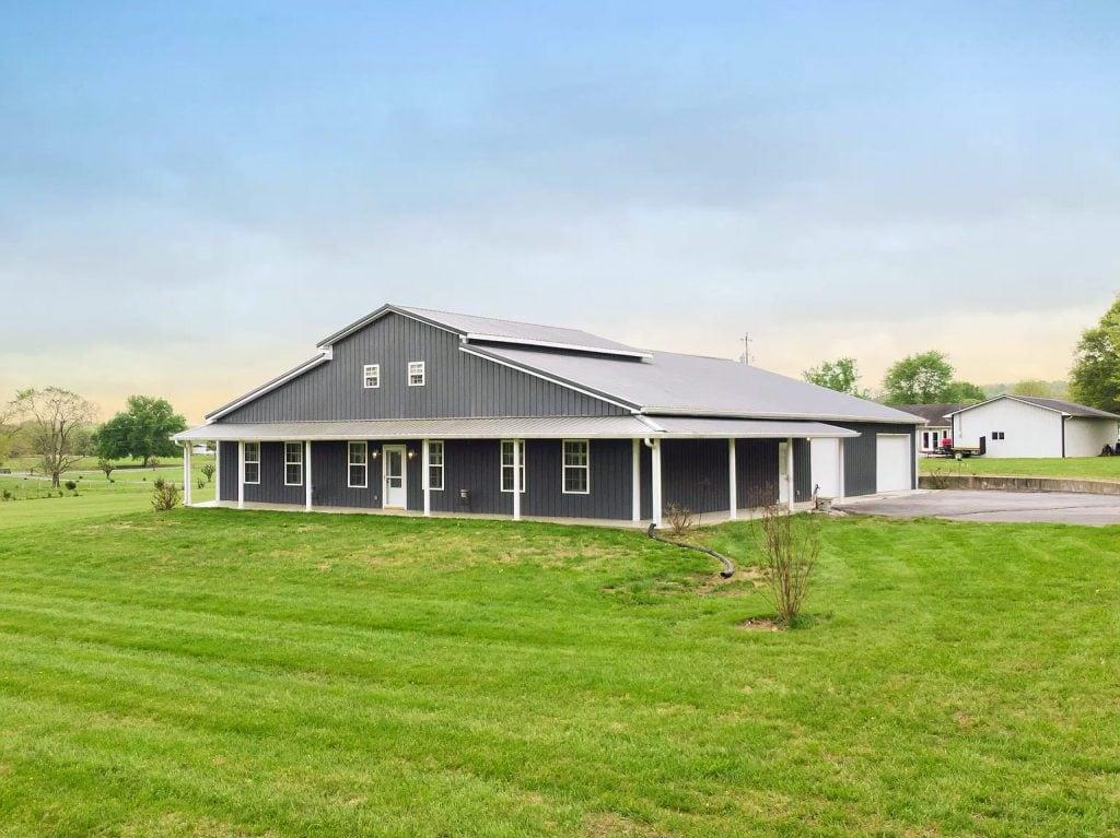Lewisburg, TN Metal Barn House For Sale