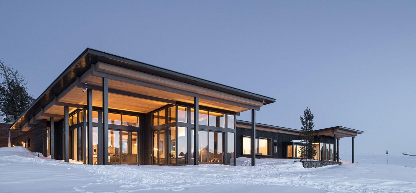 Shaw Mesa Steel Frame House by Michael Doty Associates