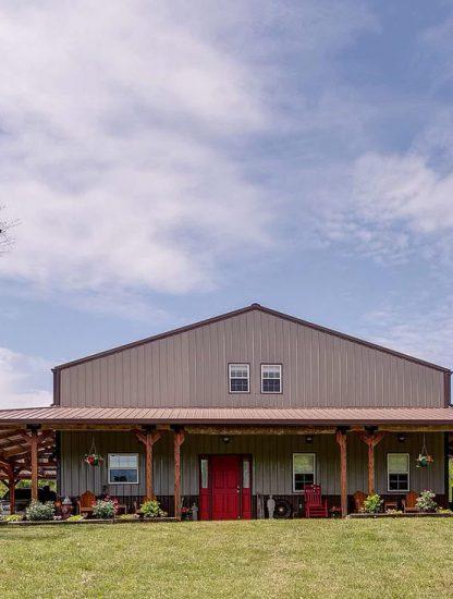 Mount Pleasant, Tennessee Barndominium House Auction