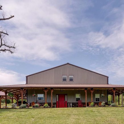 Mount Pleasant, Tennessee Barndominium House Auction
