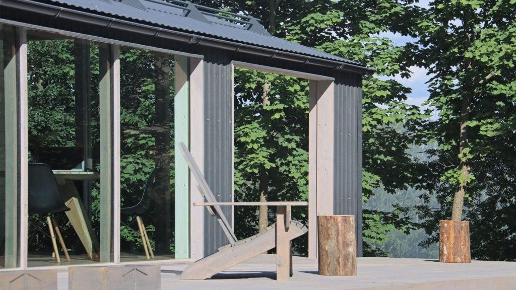 metal prefab cabins