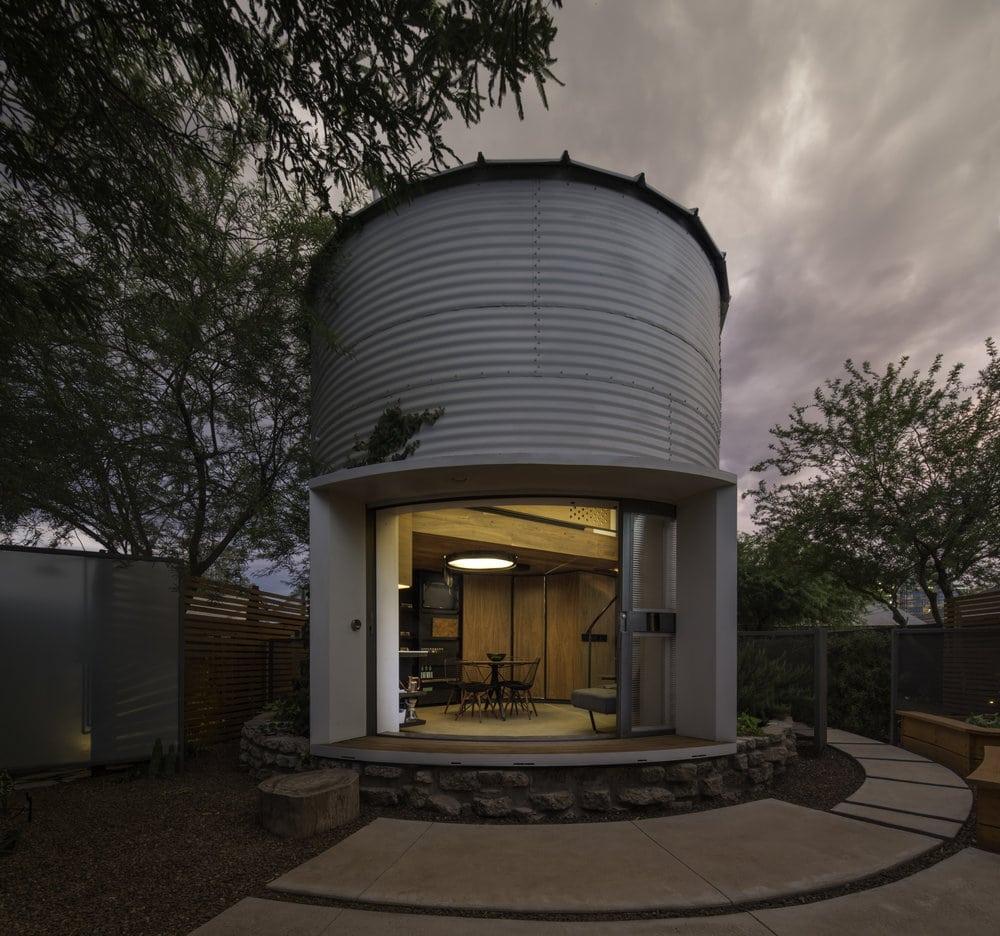 grain bin homes