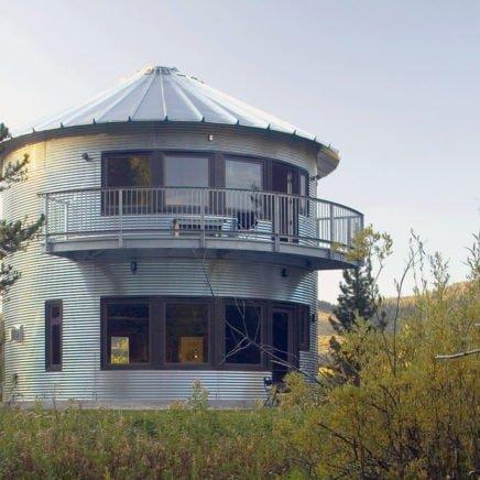 Grain Bin Silo House