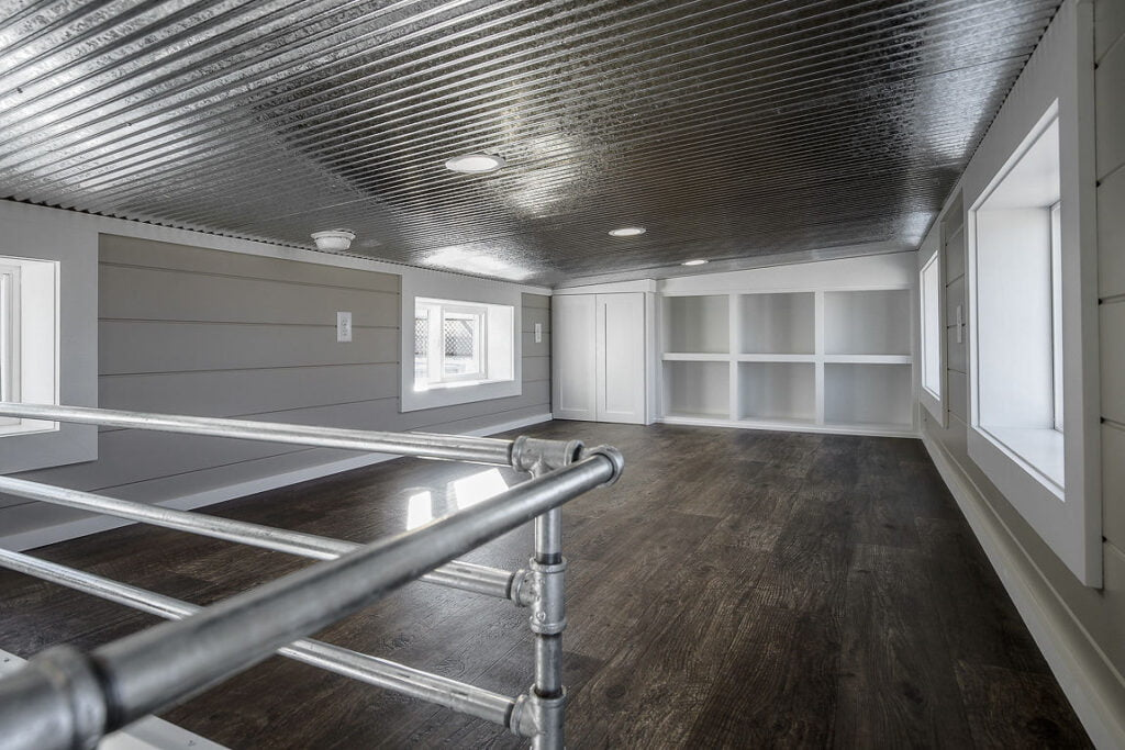 2nd story shipping container