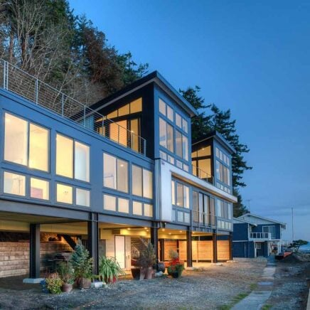 Steel framed house by Designs Northwest