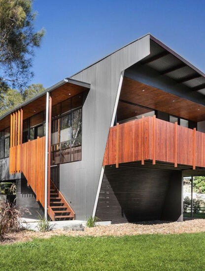 Metal Passive House Design