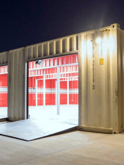 Shipping Container Garage Conversions