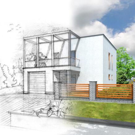 custom home architect costs