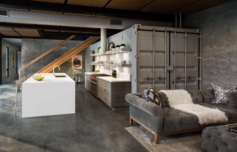 modern prefab modular home interiors