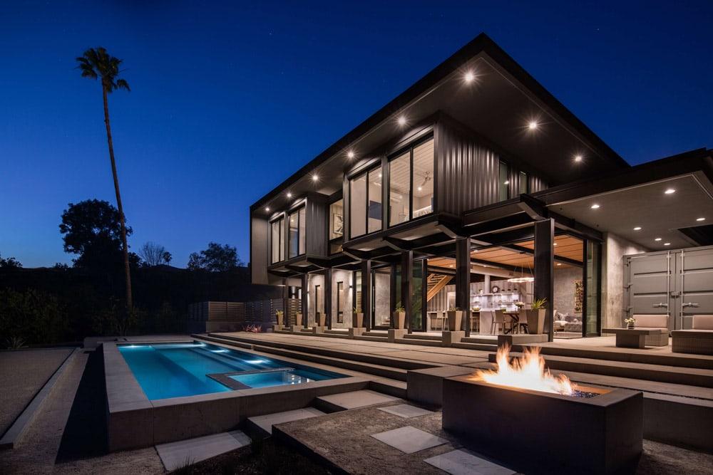 prefab steel homes