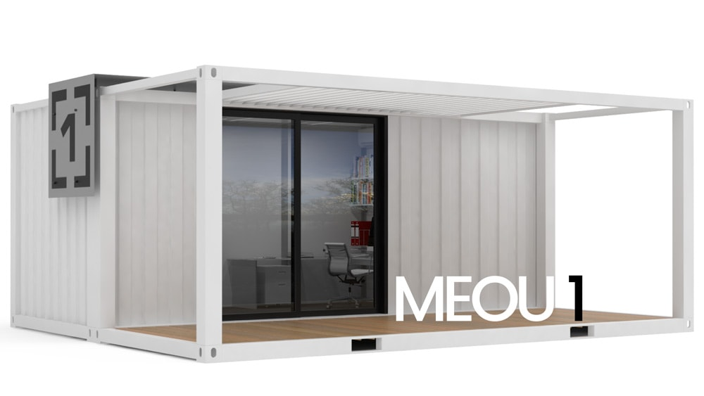 steelblox shipping container office