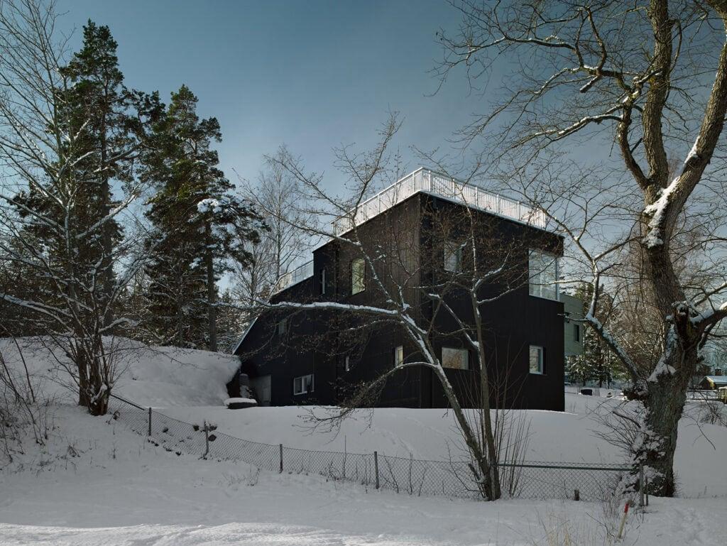 the sledding house