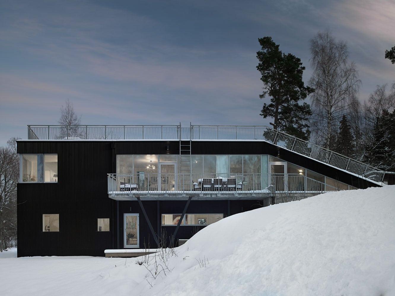 modern scandinavian house