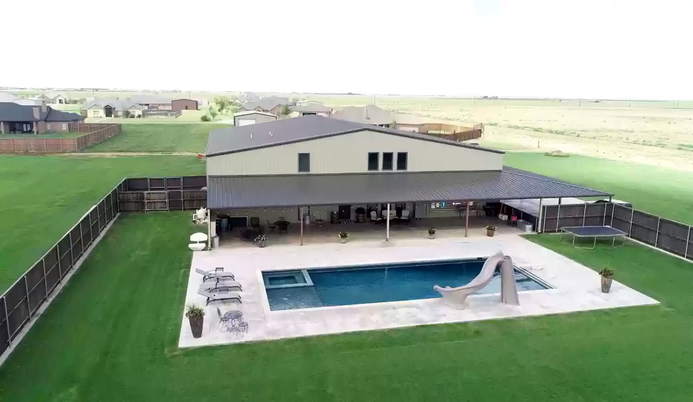 New Home, TX Metal House For Sale